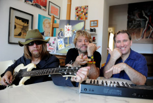 Paul Kostabi, Tony Esposito & Mark Kostabi