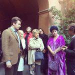 Daniele Radini Tedeschi con Marisa Laurito Maddalena Letta e Alessandro d'Alessandro