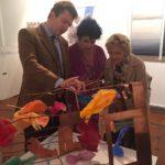 Daniele Radini Tedeschi con Marisa Laurito e Maddalena Letta