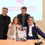 Gianni Dunil, Gelasio Gaetani d'Aragona Lovatelli, Aline Coquelle e Daniele Radini Tedechi
