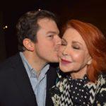 Il conte Daniele Radini Tedeschi e Marina Ripa di Meana