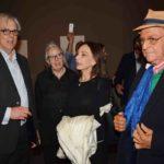 Lucas Van Eeghen con Renzo Arbore e Maria Rosaria Omaggio