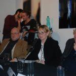da sin. Luciano Carini, Loredana Trestin, Carlo Marraffa