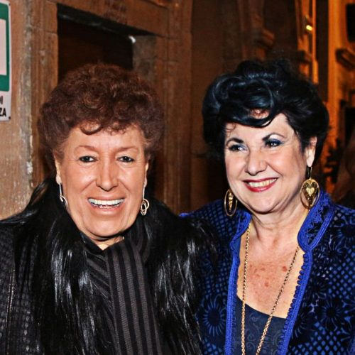 Chiostro del Bramante - Edizione 2014 - Carla Fendi e Marisa Laurito all'inaugurazione
