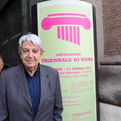 Complesso del Vittoriano - Edizione 2017 - Il politico e intellettuale Massimo Teodori