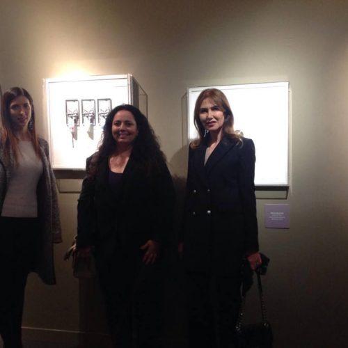 Complesso del Vittoriano - Edizione 2017 - Le principesse Maria Pia e Giacinta Ruspoli con Sabrina Bertolelli