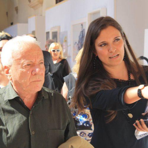 Università La Sapienza - Edizione 2014 - Stefania Pieralice e Achille Bonito Oliva
